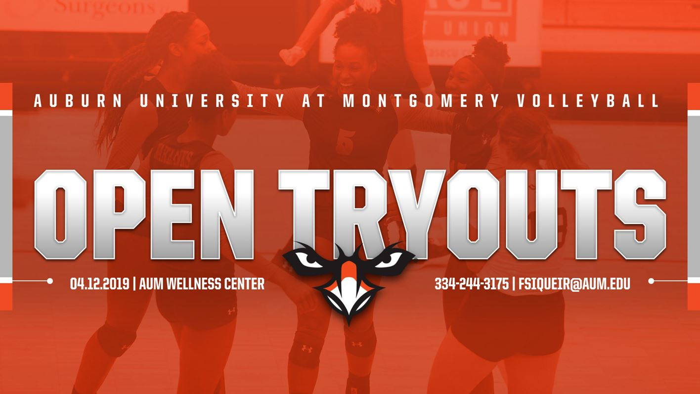 AUM Volleyball To Host Open Tryouts - Auburn University at